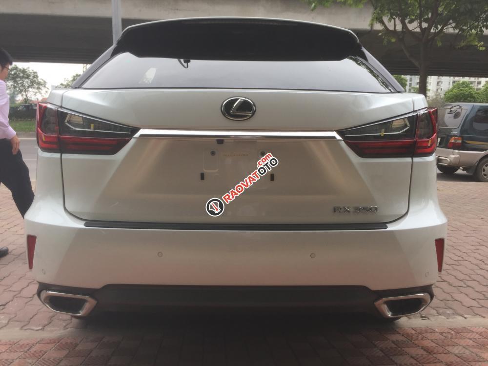 Bán ô tô Lexus RX 350 Luxury 2017, màu trắng nhập khẩu full options-3