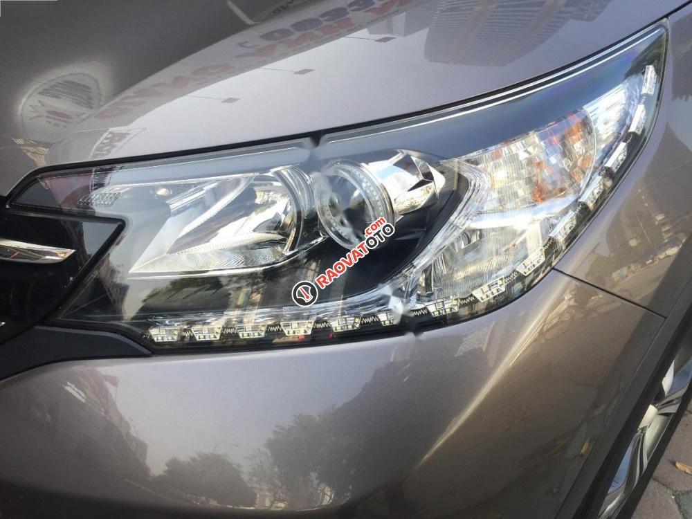 Cần bán lại xe Honda CR V 2.4 AT đời 2014, màu nâu, 810 triệu-3