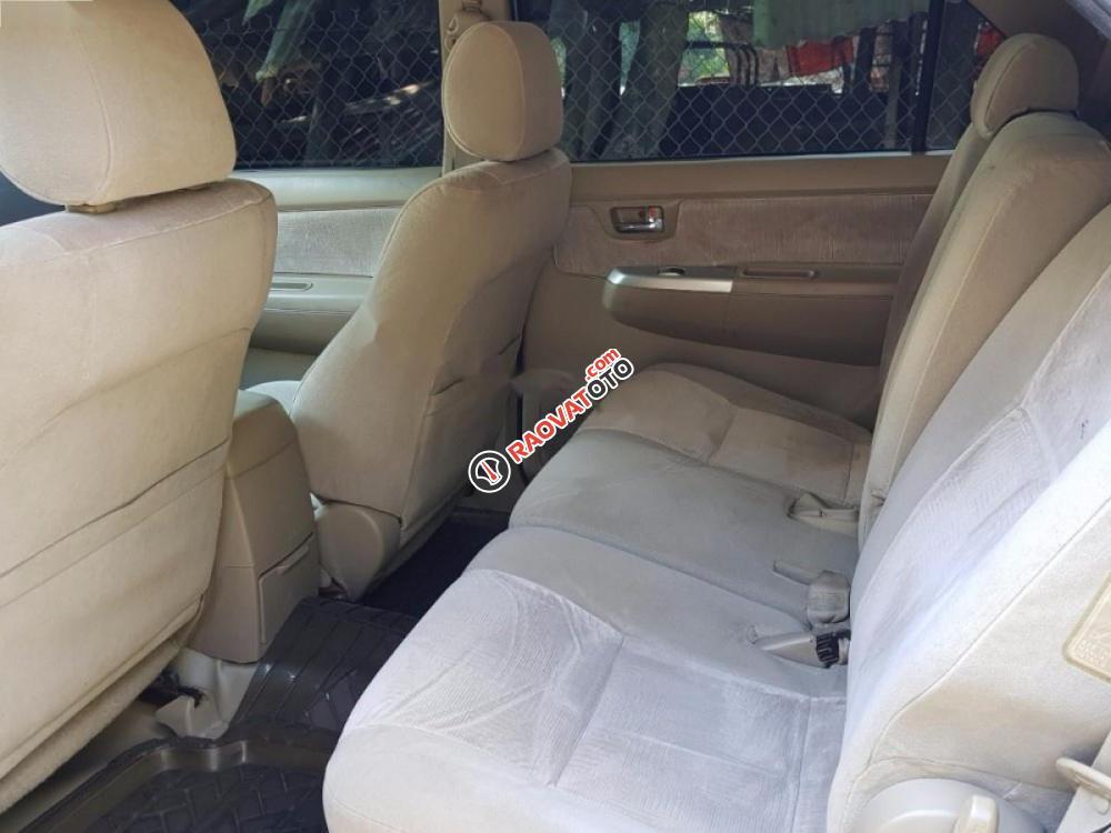 Cần bán Toyota Fortuner 2.5G đời 2009, màu bạc xe gia đình-5