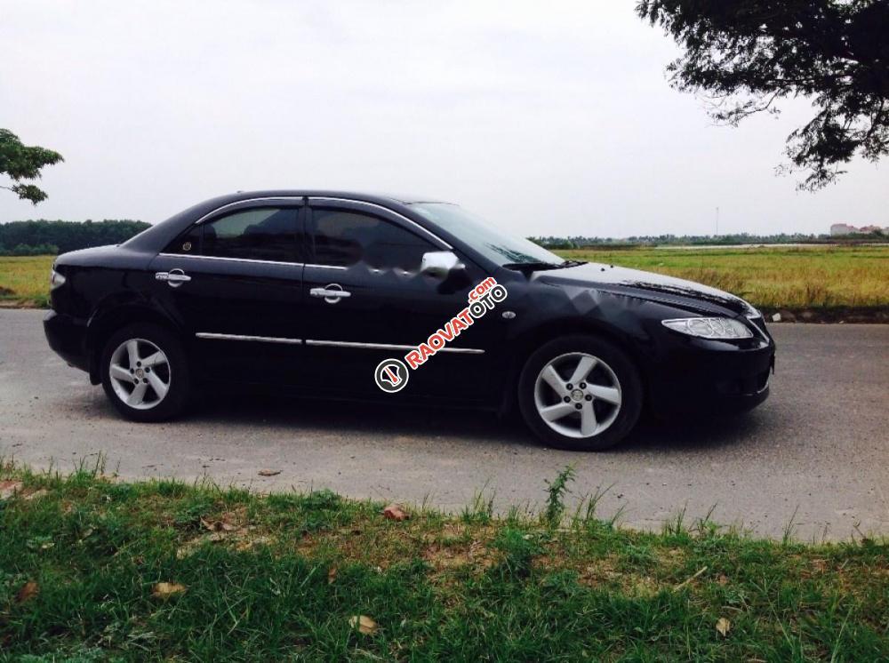 Cần bán xe Mazda 6 đời 2005, màu đen-0