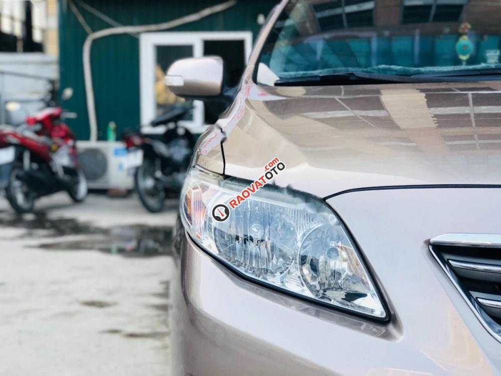 Bán Toyota Corolla altis 1.8AT đời 2009, màu nâu, 460tr-0