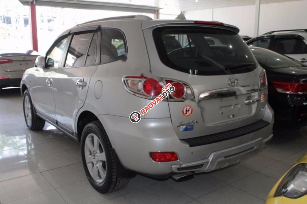 Bán Hyundai Santa Fe MLX đời 2009, màu bạc, xe nhập chính chủ-7