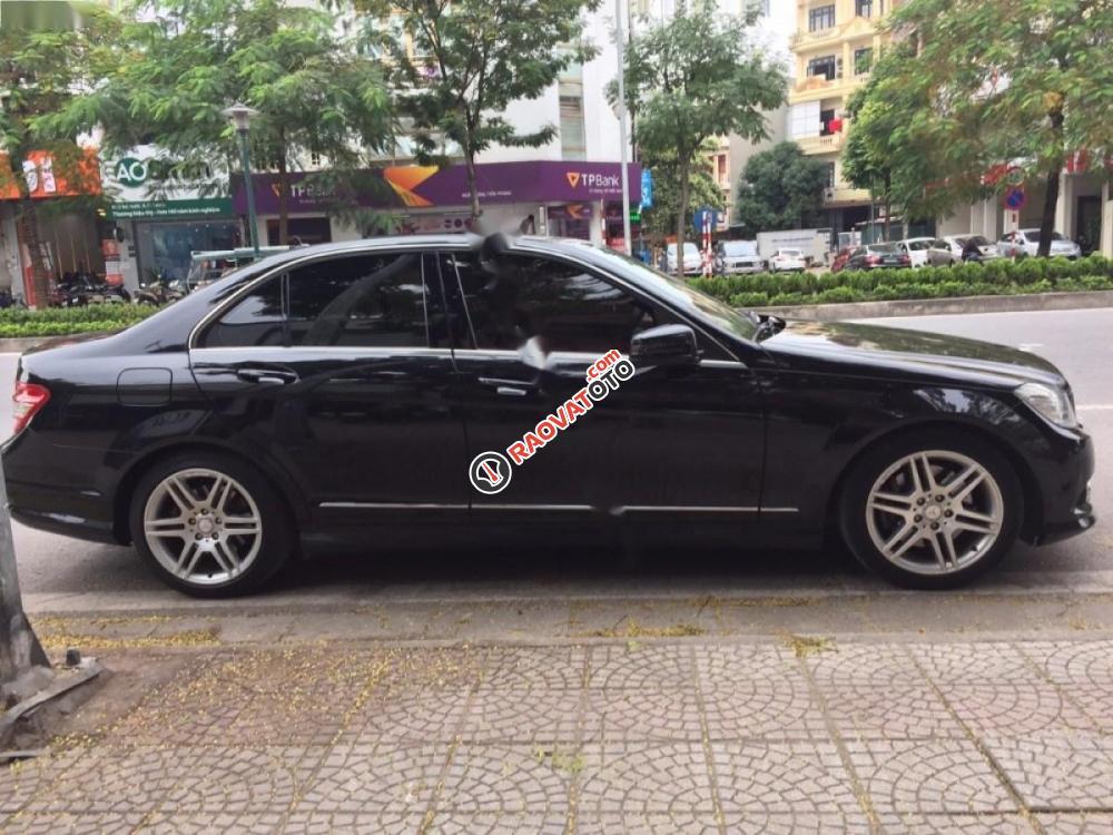Bán xe Mercedes C300 AMG đời 2010, màu đen chính chủ-5