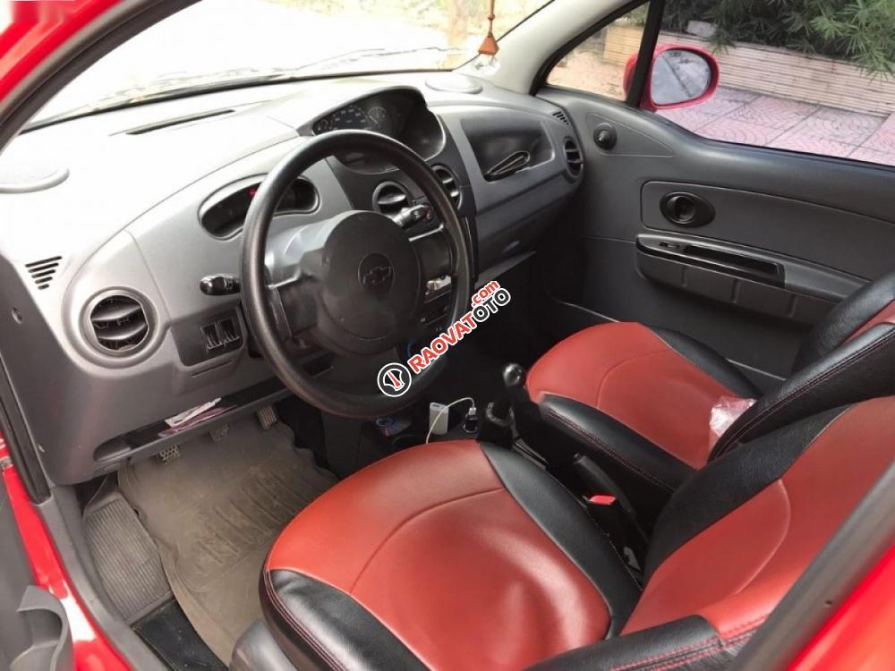 Bán Chevrolet Spark Van Lite đời 2013, màu đỏ-0