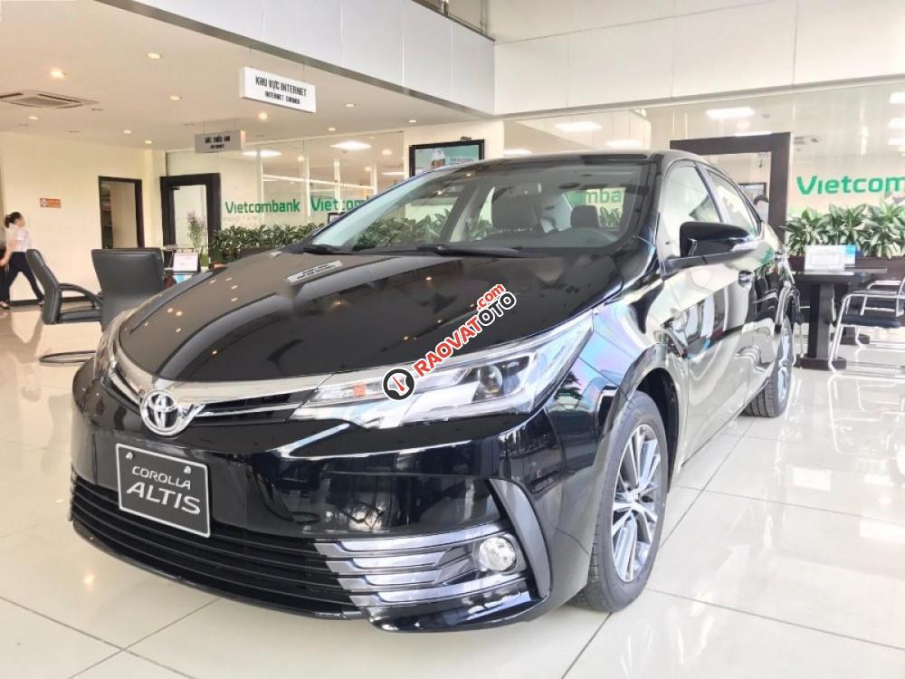Cần bán Toyota Corolla Altis 2.0V AT đời 2017, màu đen giá cạnh tranh-1