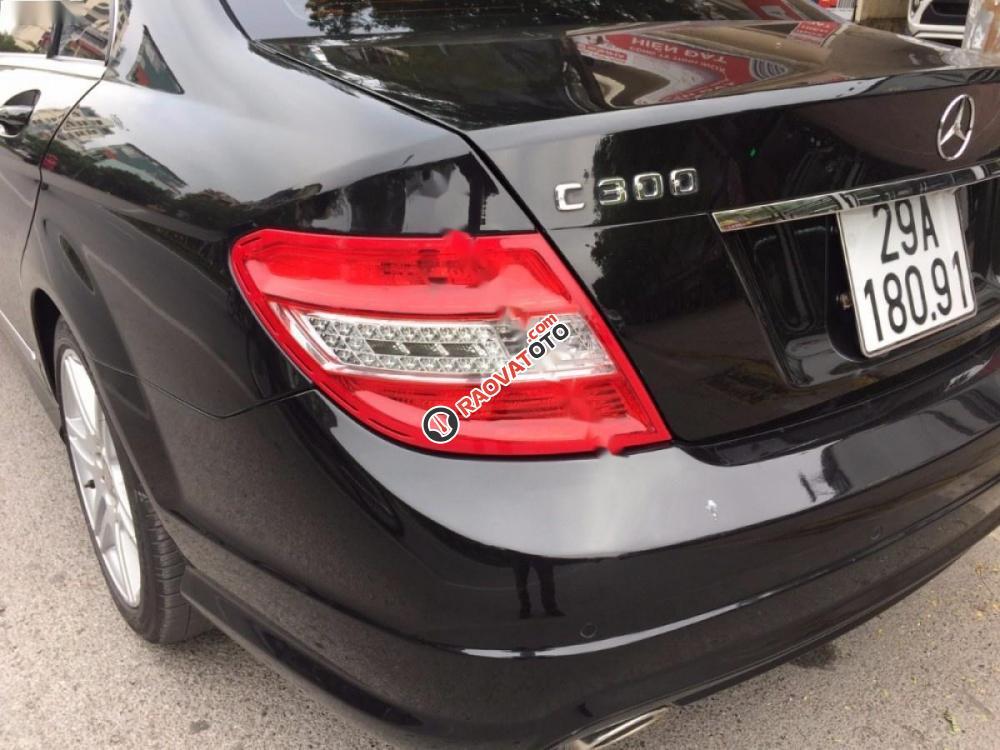 Bán xe Mercedes C300 AMG đời 2010, màu đen chính chủ-1