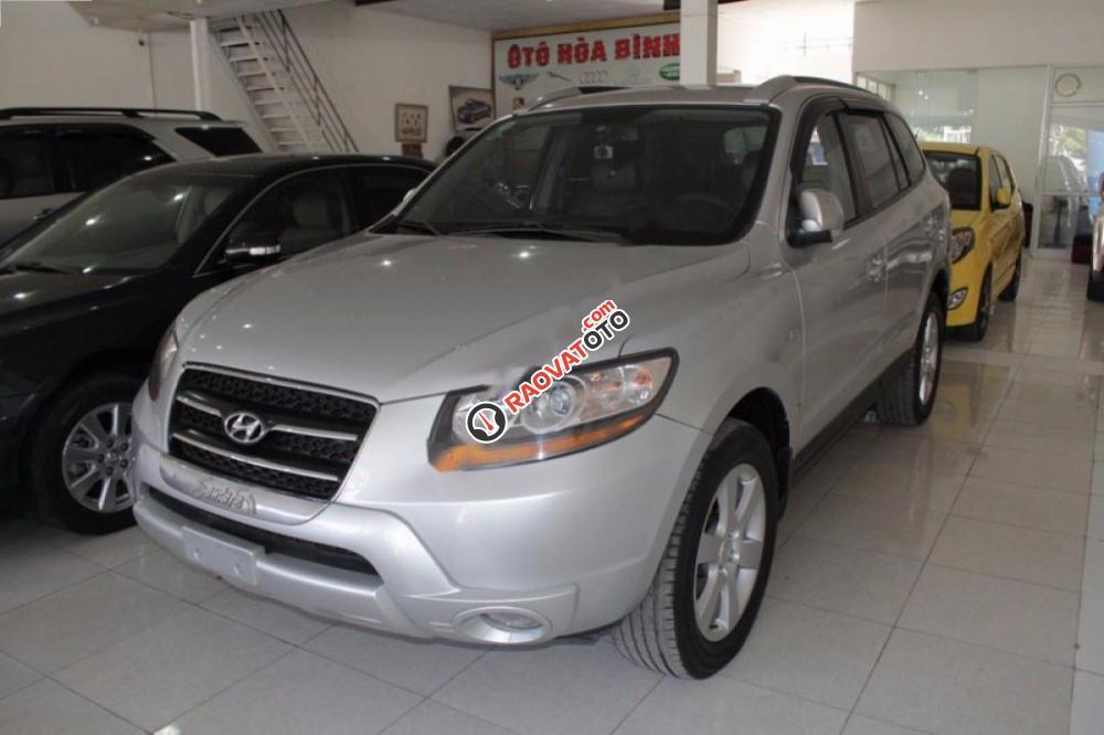 Bán Hyundai Santa Fe MLX đời 2009, màu bạc, xe nhập chính chủ-9