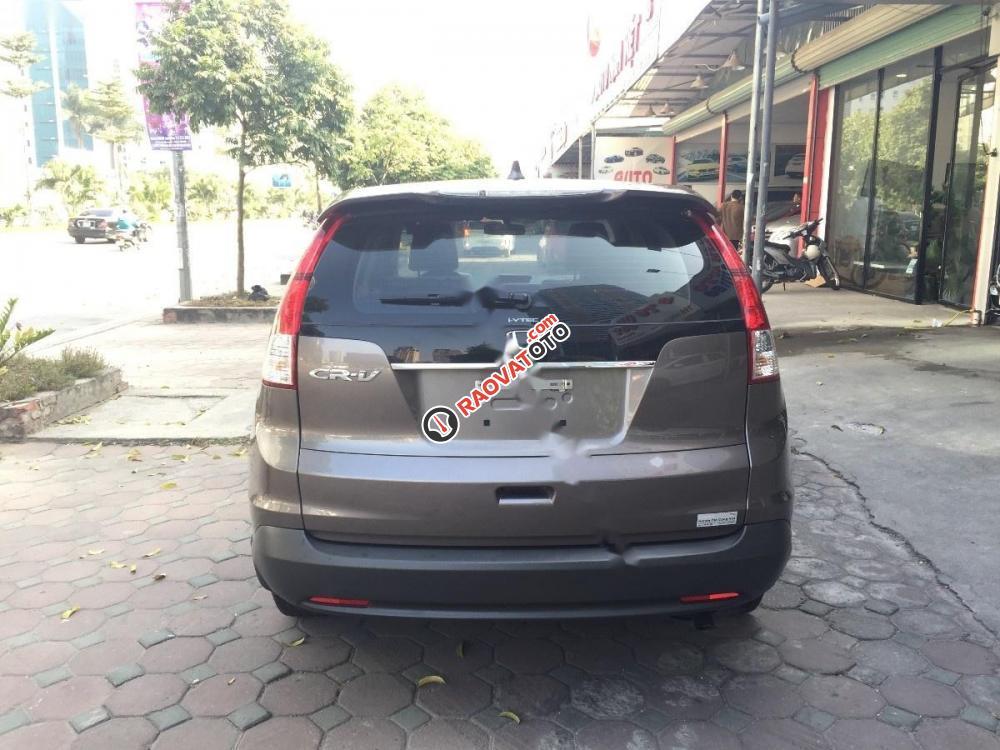 Cần bán lại xe Honda CR V 2.4 AT đời 2014, màu nâu, 810 triệu-9