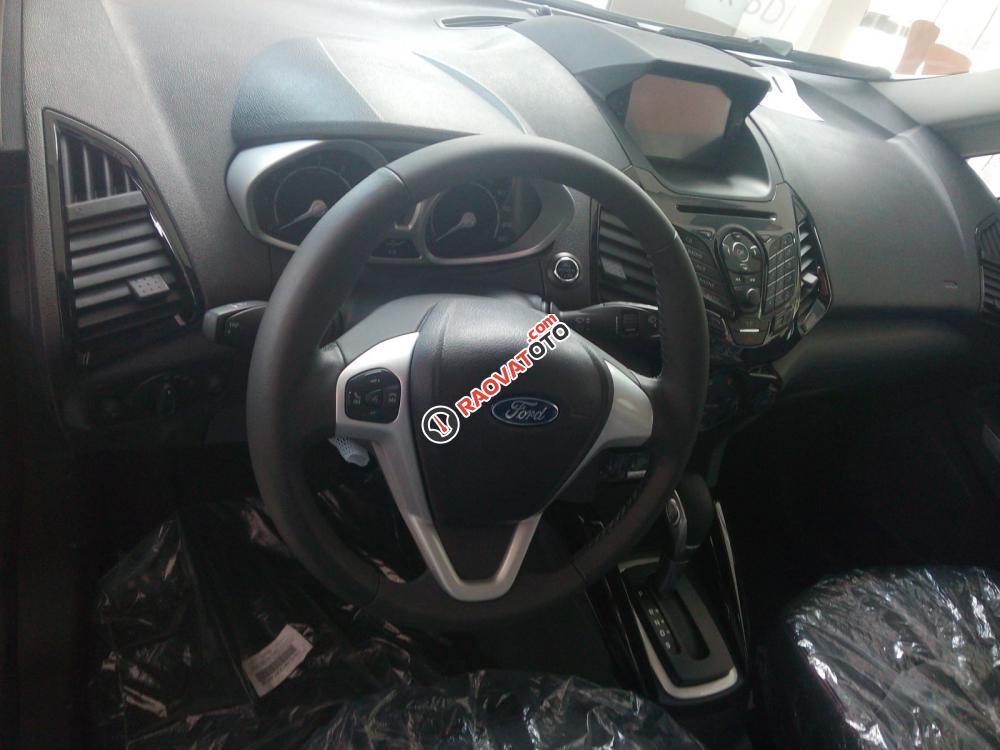 Bán Ford EcoSport, màu bạc, giá tốt-3