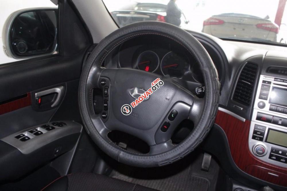 Bán Hyundai Santa Fe MLX đời 2009, màu bạc, xe nhập chính chủ-0