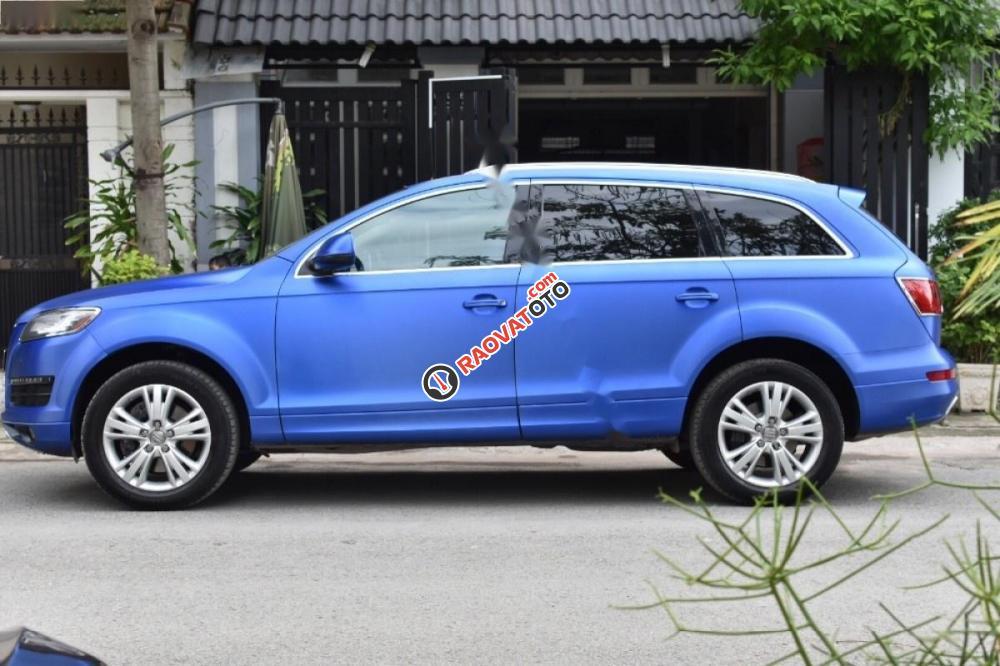 Cần bán gấp Audi Q7 Sline đời 2009, màu xanh lam, nhập khẩu nguyên chiếc-7