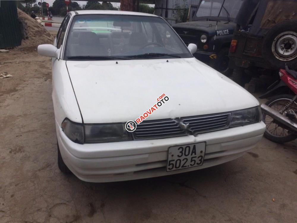 Bán Toyota Corona năm 1990, màu trắng, nhập khẩu chính chủ, giá 48tr-1