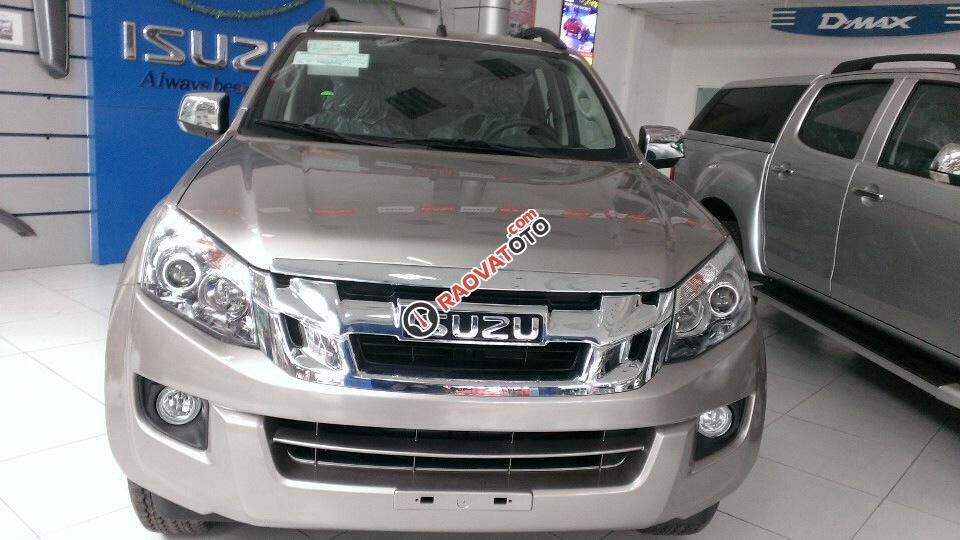 Bán xe Isuzu Dmax 4x2 LS, hộp số tự động 5 cấp, chốt cửa an toàn, KM 100% trước bạ-0