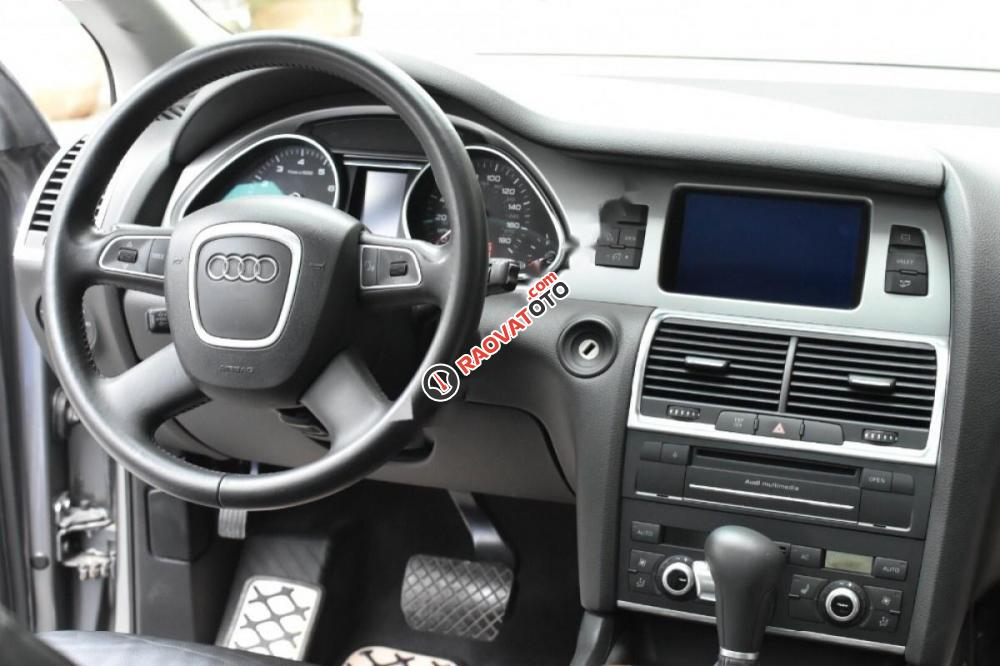 Cần bán gấp Audi Q7 Sline đời 2009, màu xanh lam, nhập khẩu nguyên chiếc-5