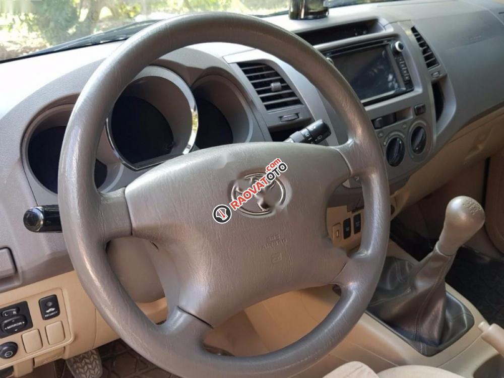 Cần bán Toyota Fortuner 2.5G đời 2009, màu bạc xe gia đình-6