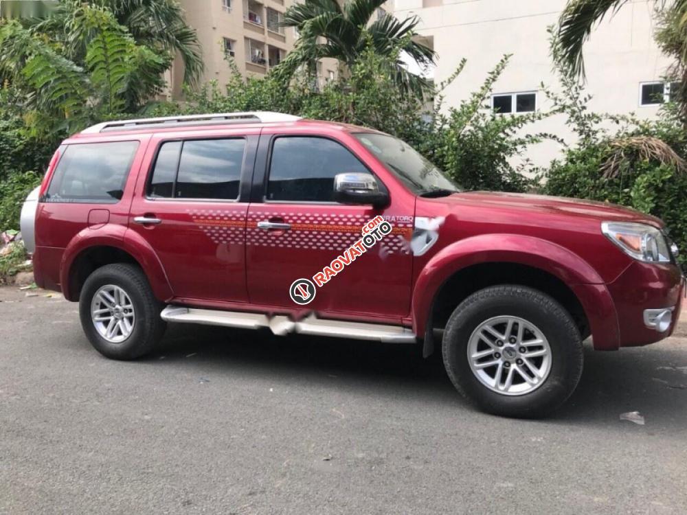 Bán xe Ford Everest đời 2009, màu đỏ số sàn, giá chỉ 465 triệu-4