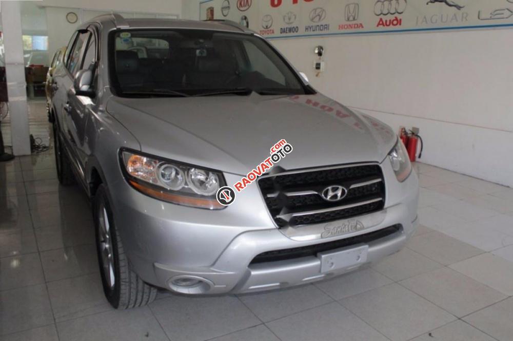 Bán Hyundai Santa Fe MLX đời 2009, màu bạc, xe nhập chính chủ-6