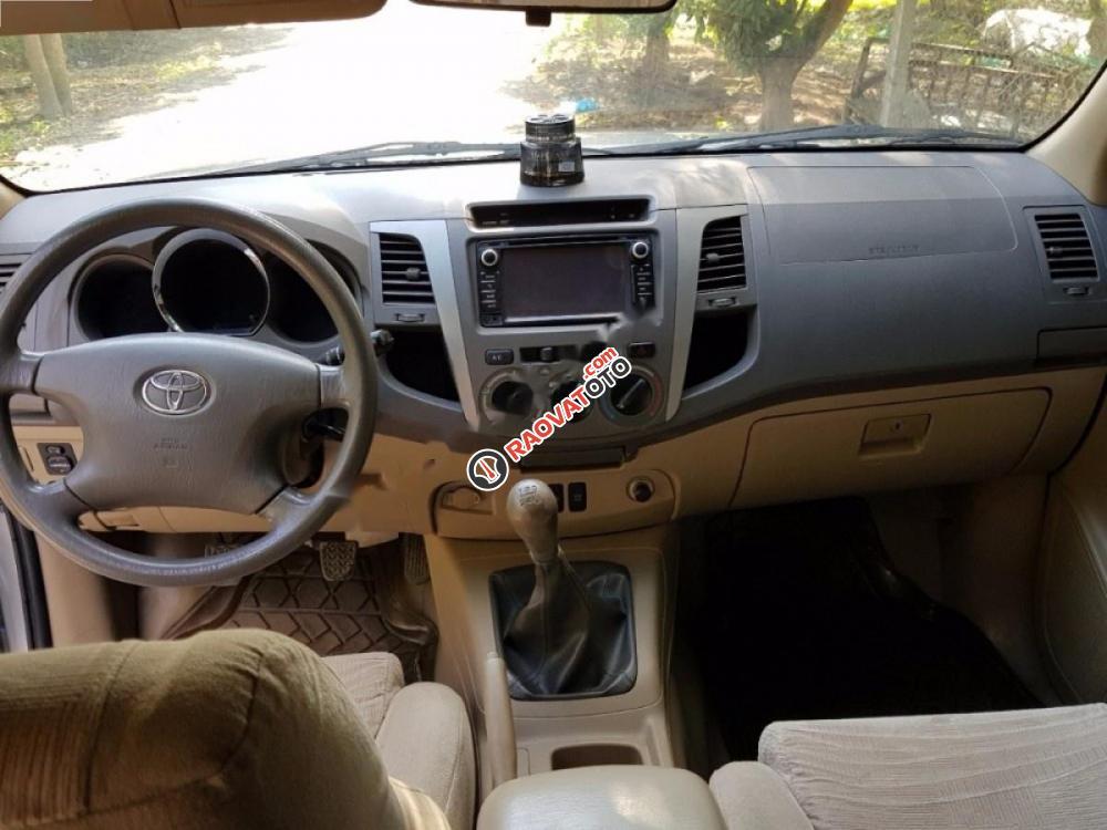 Cần bán Toyota Fortuner 2.5G đời 2009, màu bạc xe gia đình-7