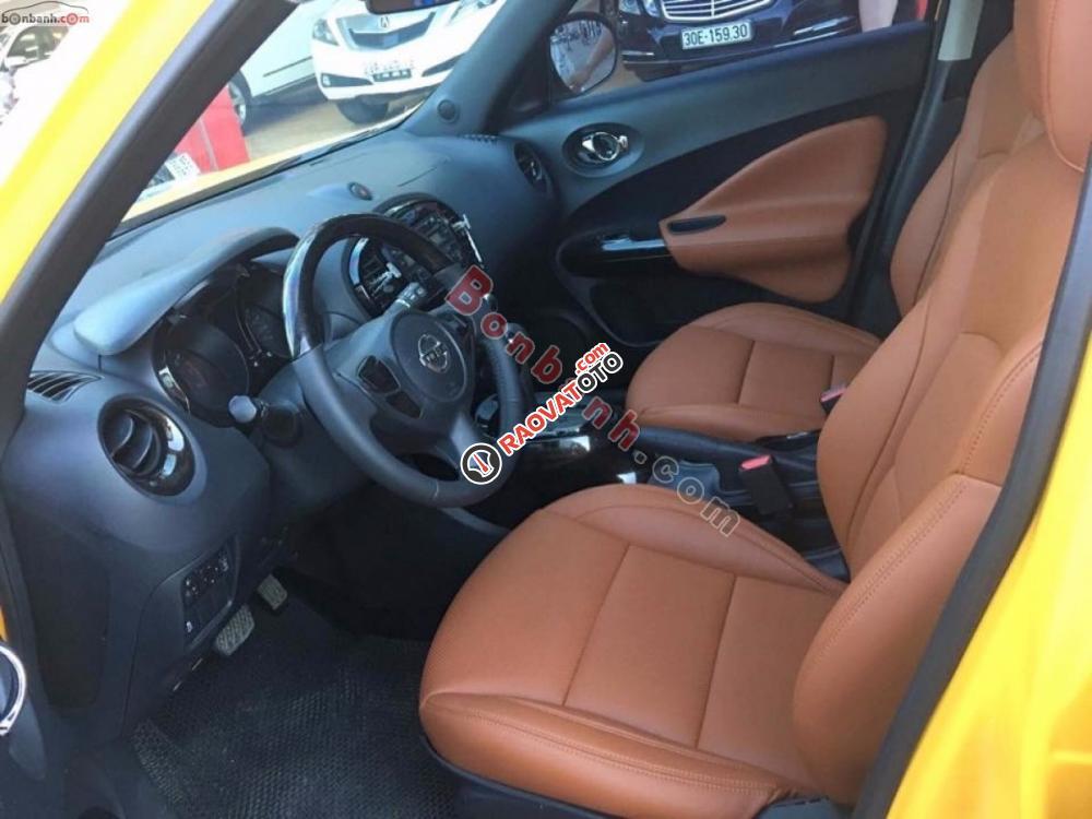 Xe Nissan Juke 1.6 AT 2013, màu vàng-4