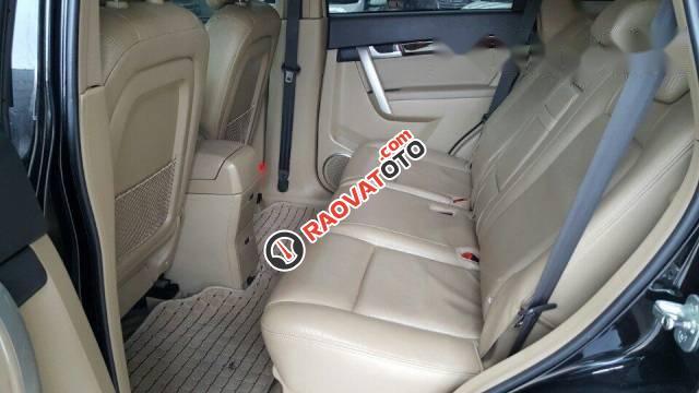 Bán Chevrolet Captiva Maxx 2.4 đời 2010, màu đen số tự động, giá tốt-2