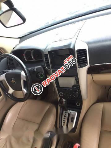 Bán Chevrolet Captiva Maxx 2.4 đời 2010, màu đen số tự động, giá tốt-1