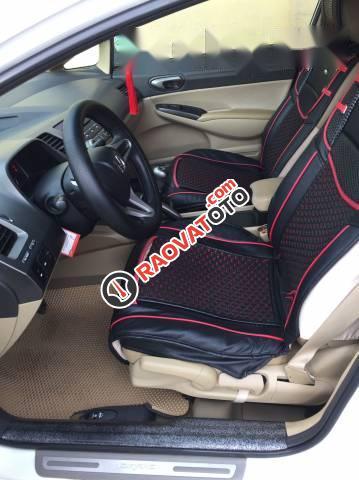 Bán Honda Civic đời 2010, màu trắng số sàn, giá 360tr-2
