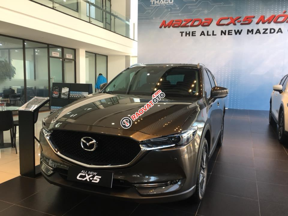 Bán Mazda CX 5 đời 2018, màu nâu-1