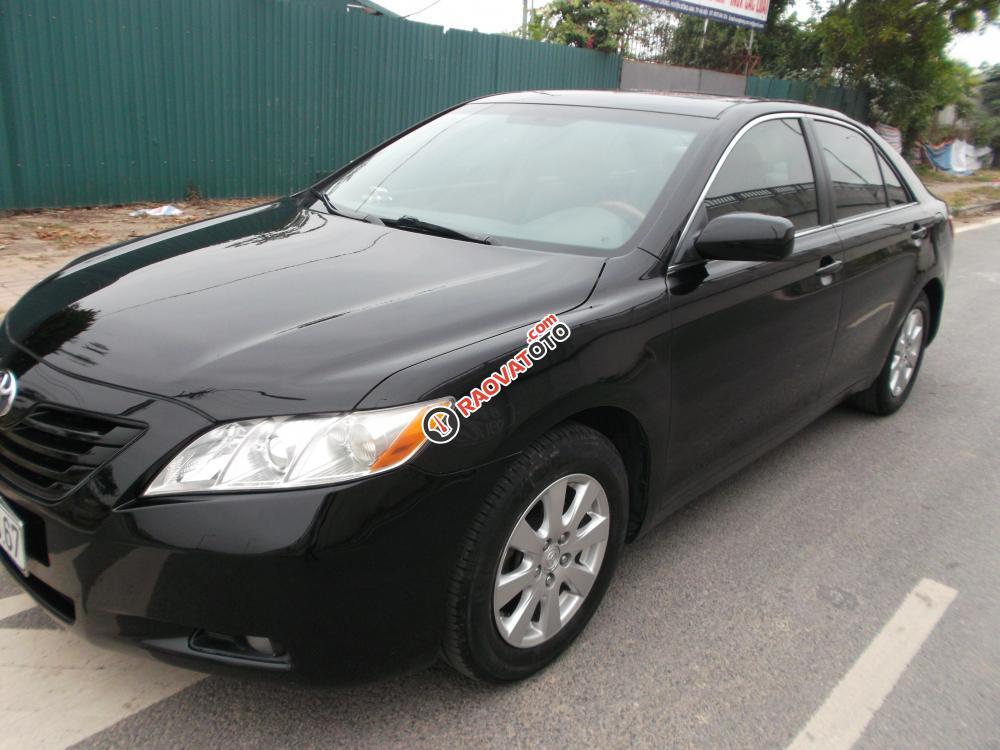 Bán Toyota Camry LE sản xuất 2008, màu đen, nhập khẩu nguyên chiếc giá cạnh tranh-0