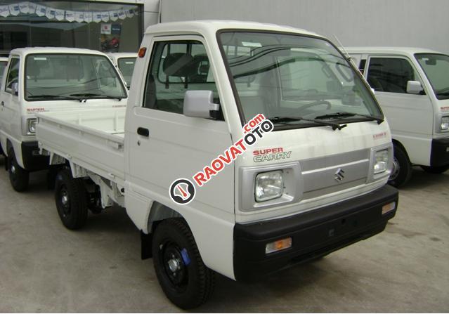 Bán Suzuki Super Carry Truck đời 2017, màu trắng, 249tr-5