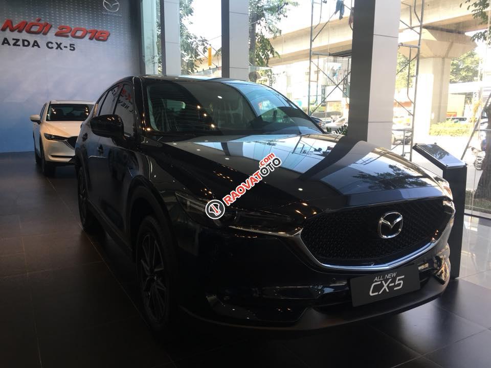 Bán xe Mazda CX 5 đời 2017, màu đen, giá tốt-4