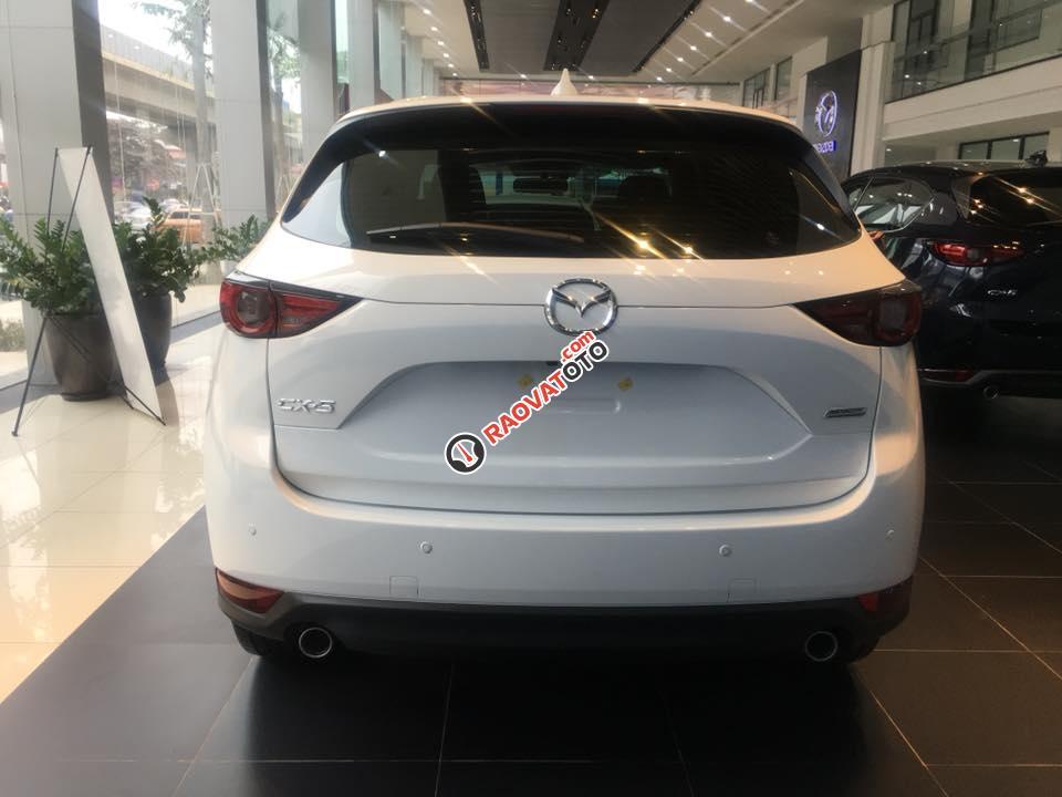 Bán Mazda CX 5 đời 2018, màu trắng-2