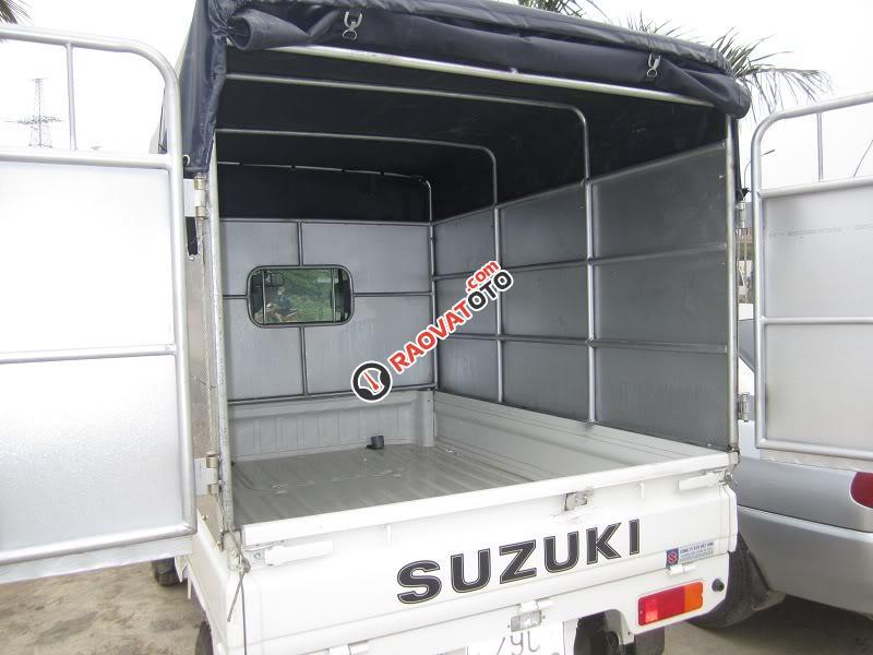 Bán Suzuki Super Carry Truck đời 2017, màu trắng, 249tr-3