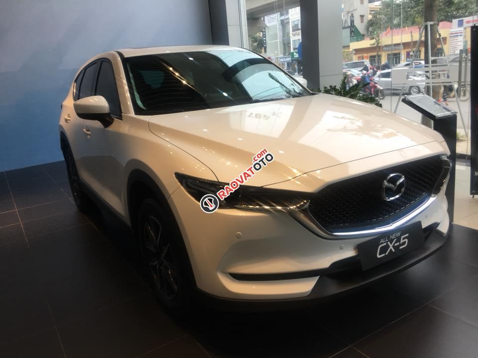 Bán Mazda CX 5 đời 2018, màu trắng-0