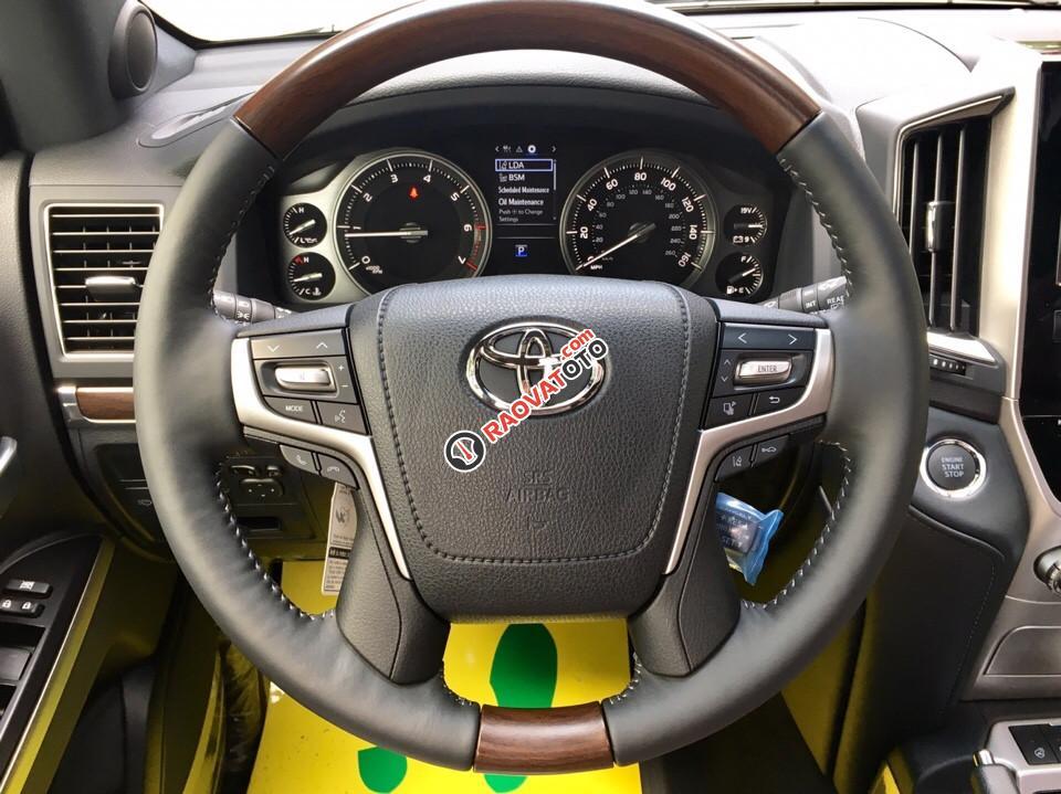 Bán Toyota Land Cruiser 5.7 đời 2017, màu đen, nhập khẩu nguyên chiếc-18