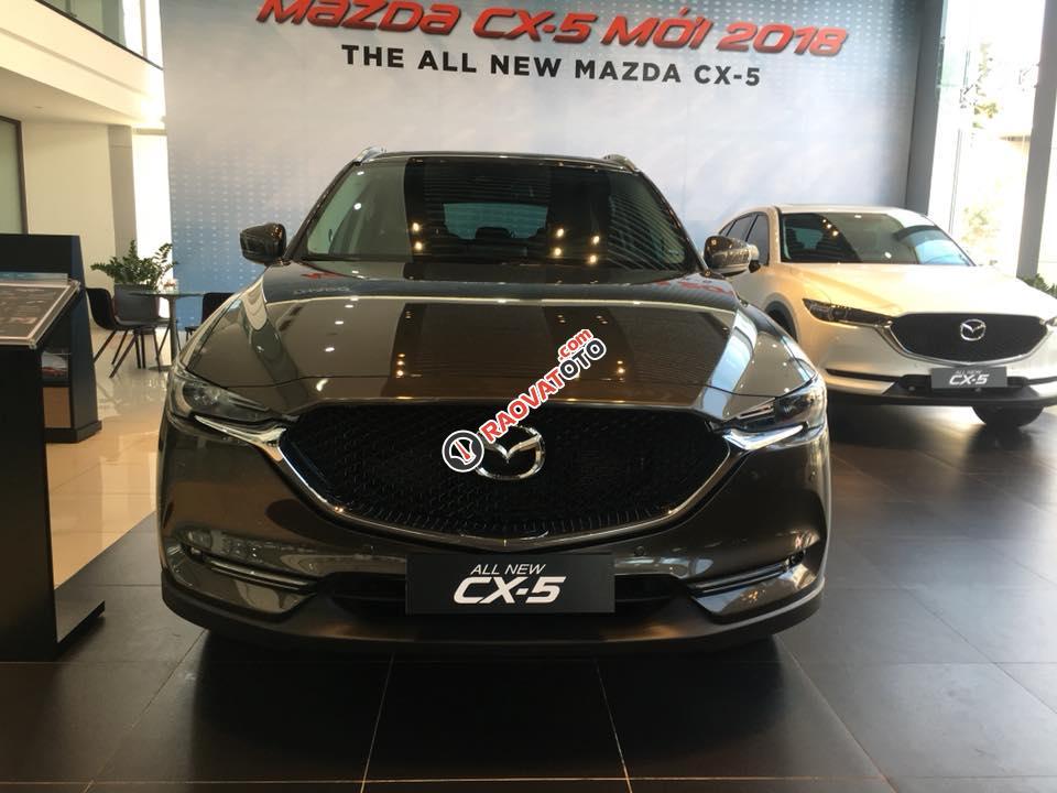 Bán Mazda CX 5 đời 2018, màu nâu-0
