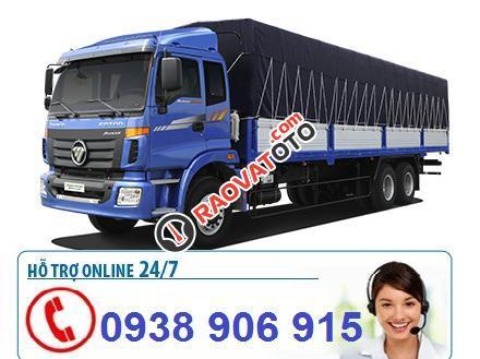 Bán xe tải nặng Thaco Auman 9 tấn, 3 chân 14 tấn, 4 chân 17,995 tấn, 5 chân 20,5 tấn-12