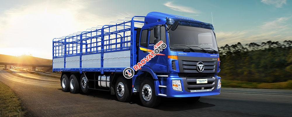 Bán xe tải nặng Thaco Auman 9 tấn, 3 chân 14 tấn, 4 chân 17,995 tấn, 5 chân 20,5 tấn-1