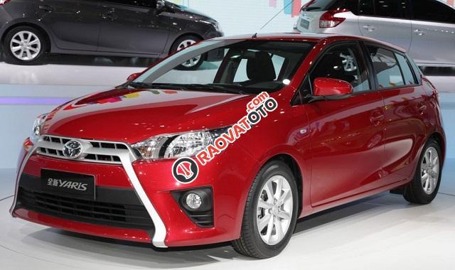 Khuyến mãi khủng 0% lãi suất khi mua xe Toyota Yaris 1.5G New 2017, nhập khẩu, hộp số vô cấp-0