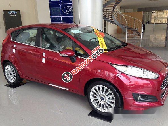 Cần bán xe Ford Fiesta 2017, màu đỏ-4