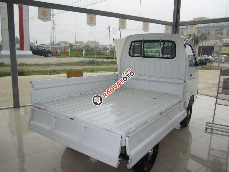 Bán Suzuki Super Carry Truck đời 2017, màu trắng, 249tr-1