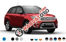 Bán xe Suzuki Vitara đời 2015, màu đỏ, nhập khẩu nguyên chiếc, 719 triệu-3