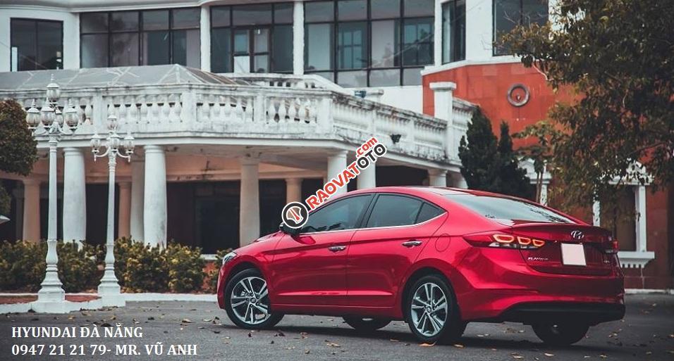 Xe Hyundai Elantra đời 2018 màu đỏ- Đà Nẵng, giá sốc, giảm giá 80 triệu, rẻ nhất thị trường-4