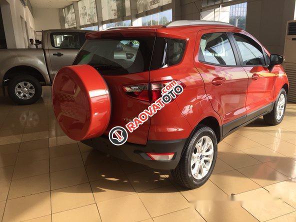 Bán Ford EcoSport đời 2017, màu đỏ-1