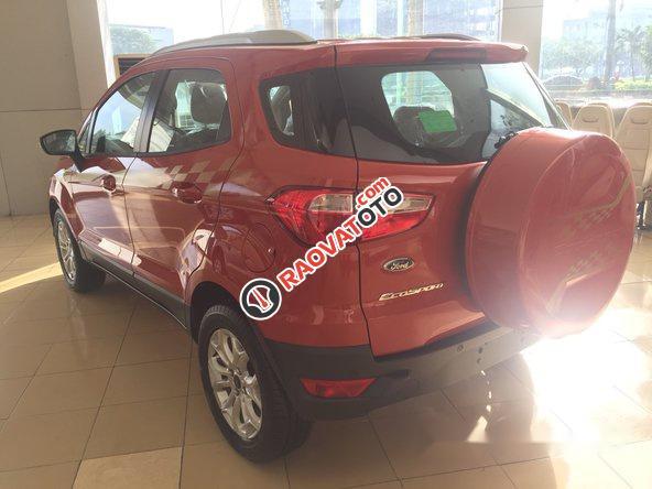 Bán Ford EcoSport đời 2017, màu đỏ-5