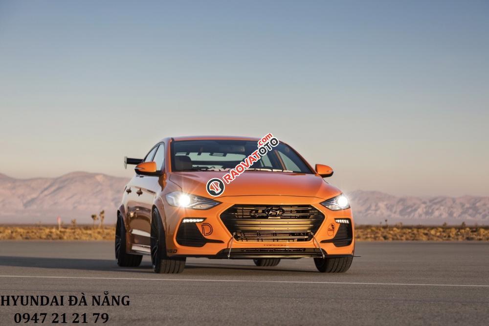 Xe Hyundai Elantra 2017 màu cam - Đà Nẵng giá sốc, rẻ nhất thị trường chỉ với 160 triệu-1