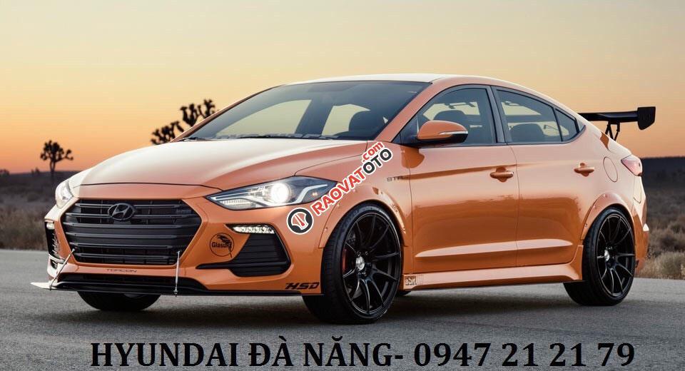 Xe Hyundai Elantra 2017 màu cam - Đà Nẵng giá sốc, rẻ nhất thị trường chỉ với 160 triệu-0