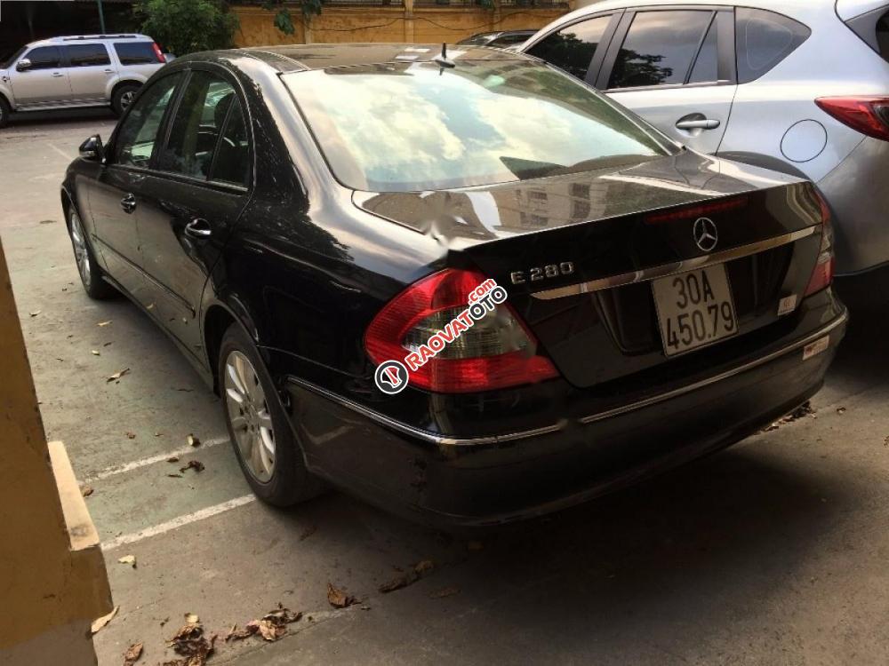 Chính chủ bán Mercedes E280 2007, màu đen-5