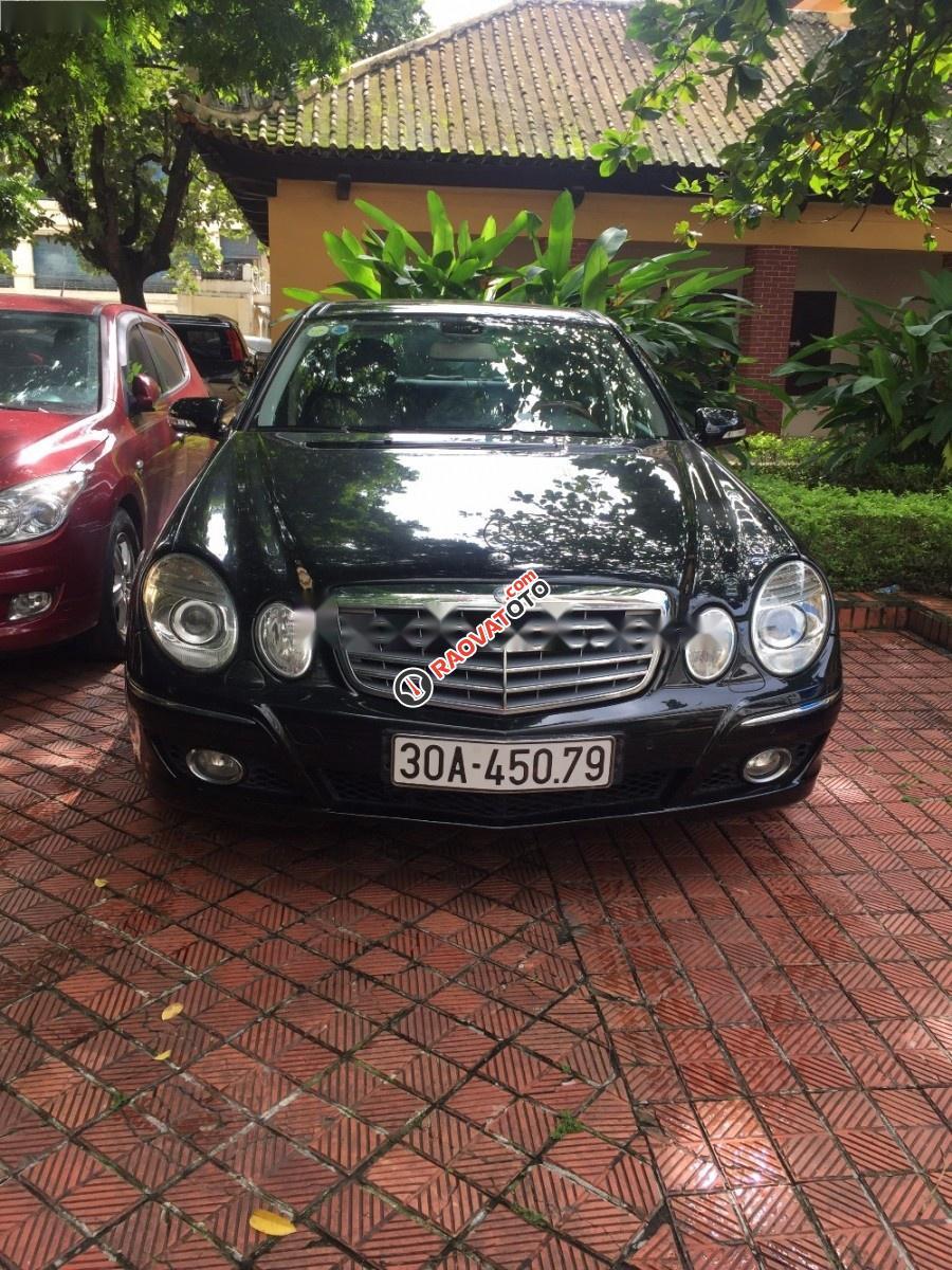 Chính chủ bán Mercedes E280 2007, màu đen-6