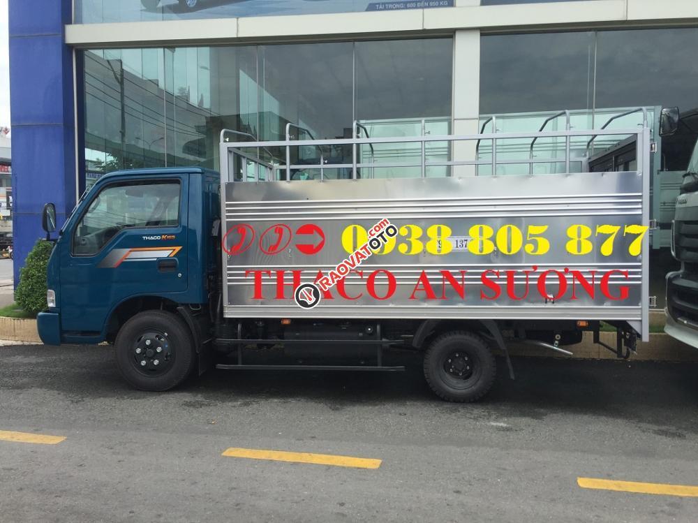 Xe tải Kia K165 (K3000 -2017) tải trọng 2,4 tấn thùng mui bạt, thùng kín giá tốt nhất-1