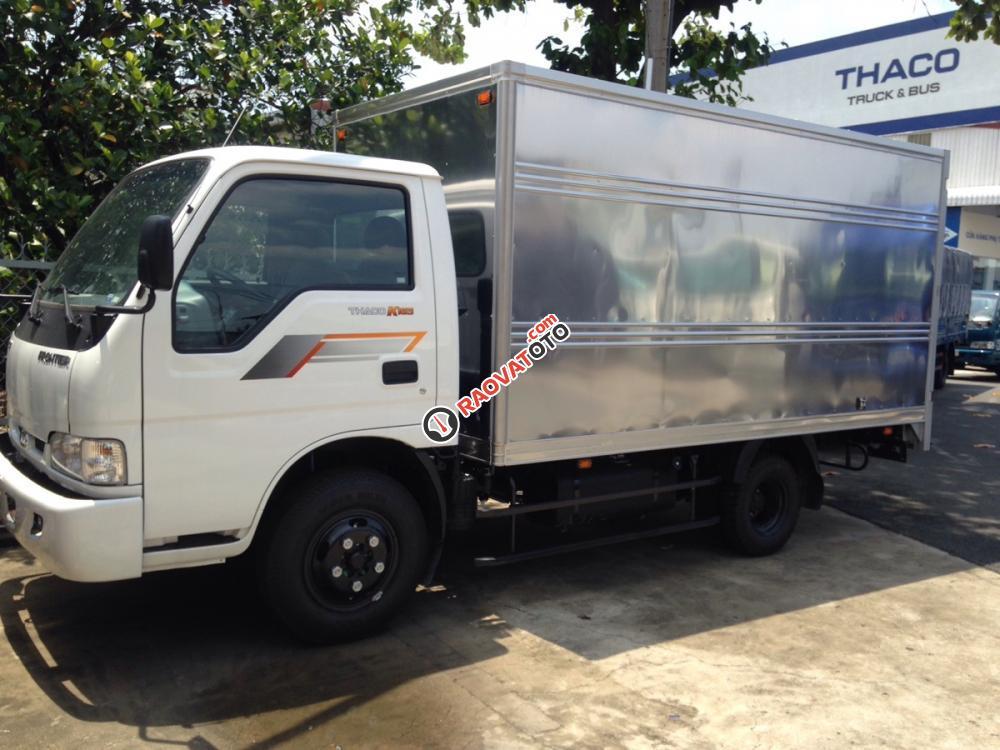 Xe tải Thaco K165s tải 2.4 tấn thùng kín, giao xe ngay đời 2017-0